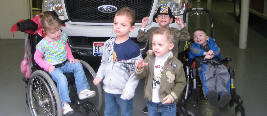 Pre-school Visits the Fire Station
